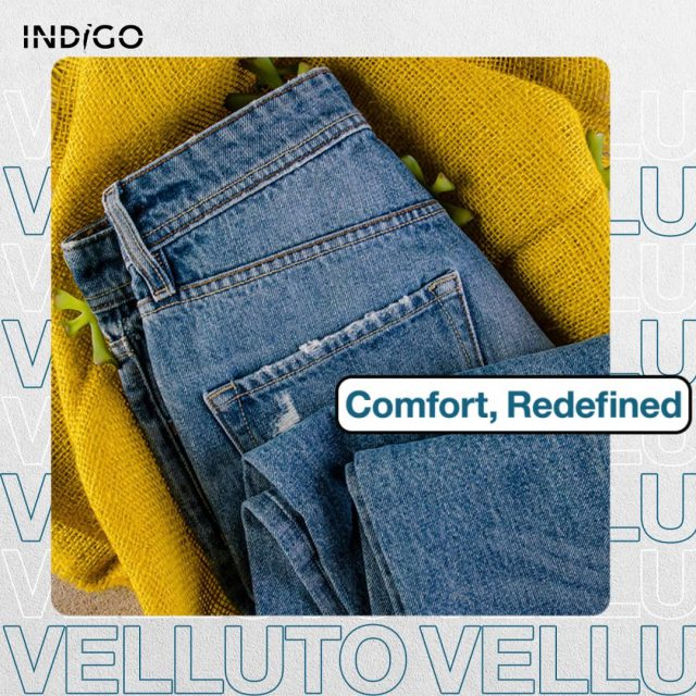 Our Velluto fabrics are like being wrapped in comfort. They are silk and slouchy and beyond anything you have ever worn.   #indigo #denim #madeinpakistan #sustainability #blueforblue #dyenamic #madeinpakistan #worldofdenim #denim #denimdesign #designthinking #denimlife #denimgoods #denimbrand #denimblue