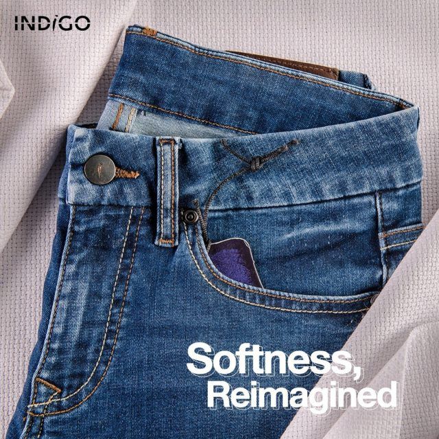 Our Velluto fabrics are softer than anything you have ever imagined. They are constructed loosely to ensure an enjoyable experience for all your on-the-go needs.   #indigo #sustainability #blueforblue #dyenamic #madeinpakistan #worldofdenim #denim #denimdesign #designthinking #denimlife #denimgoods #denimbrand #denimblue